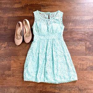 Mint Green Lace Dress Sz 5/6 Juniors